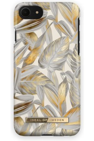 Ideal of sweden Fashion Case iPhone 7 Platinum Leaves