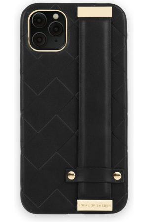 Ideal of sweden Statement Case iPhone 11 Pro Max Braided Smooth Noir