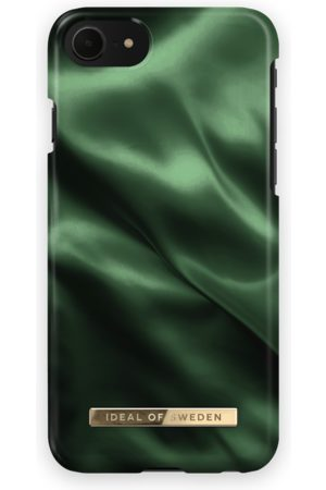 Ideal of sweden Telefoon hoesjes - Fashion Case iPhone 7 Emerald Satin