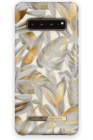 Ideal of sweden Telefoon hoesjes - Fashion Case Galaxy S10 Platinum Leaves