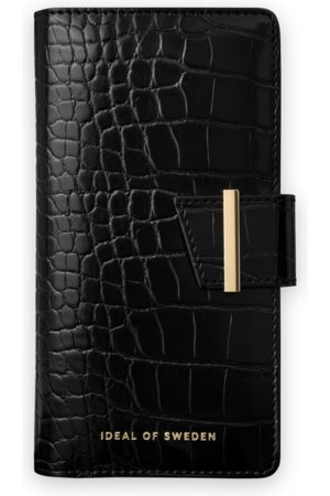 Ideal of sweden Cora Phone Wallet iPhone 11 Jet Black Croco