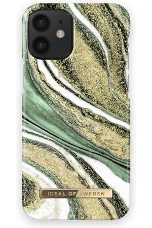 Ideal of sweden Telefoon hoesjes - Fashion Case iPhone 12 Mini Cosmic Green Swirl