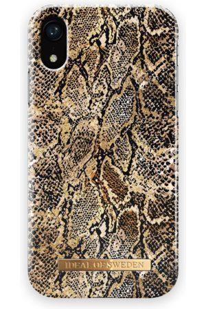 Ideal of sweden Telefoon hoesjes - Fashion Case iPhone XR Golden Gecko