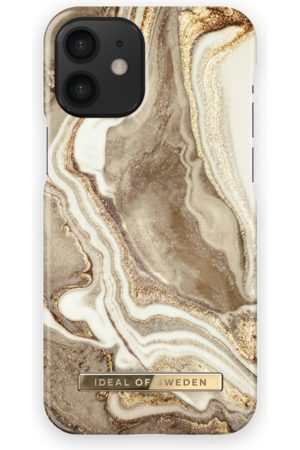 Ideal of sweden Fashion Case iPhone 12 Mini Golden Sand Marble