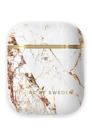 Ideal of sweden Telefoon hoesjes - Fashion Airpods Case Carrara Gold