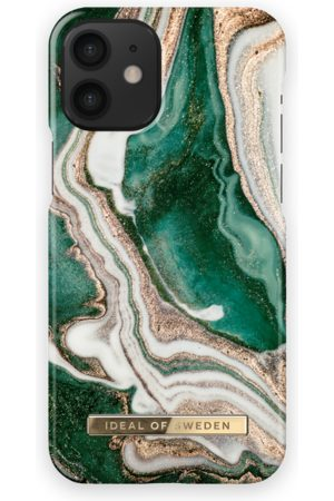 Ideal of sweden Fashion Case iPhone 12 Mini Golden Jade Marble