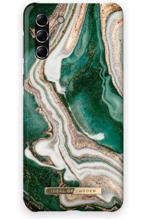 Ideal of sweden Telefoon hoesjes - Fashion Case Galaxy S21 Plus Golden Jade Marble