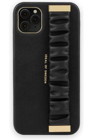 Ideal of sweden Telefoon hoesjes - Statement Case iPhone 11 Pro Max Ruffle Noir Top-Handle