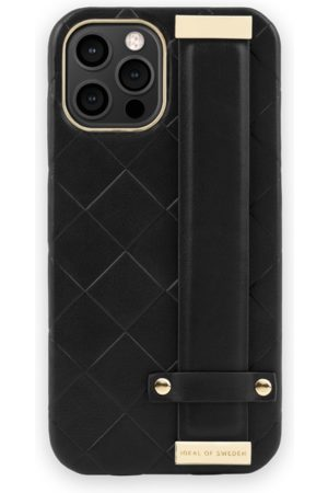 Ideal of sweden Telefoon hoesjes - Statement Case iPhone 12 Pro Max Braided Smooth Noir