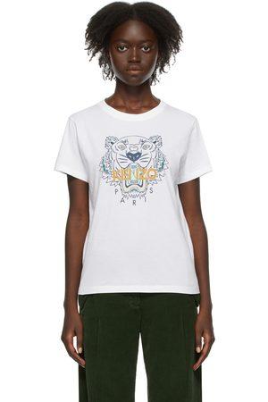 Kenzo Dames T-shirts - White Tiger T-Shirt