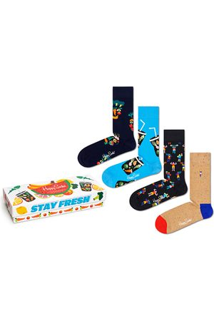 Happy Socks Sokken - Healthy lifestyle giftbox 4-pack