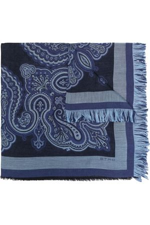 Etro Heren Sjaals - Checked lightweight scarf
