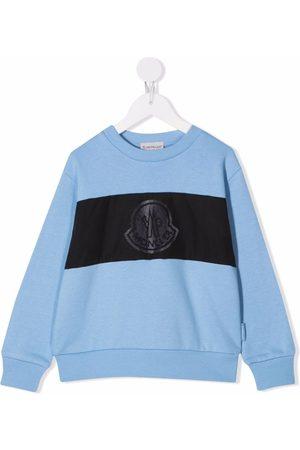 Moncler Logo-patch cotton sweatshirt