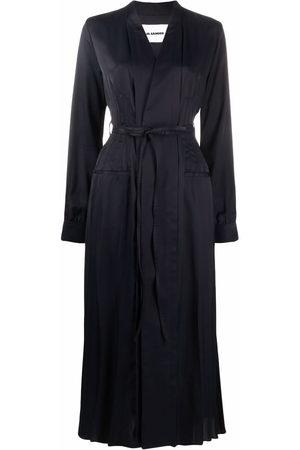 Jil Sander Fluid belted wrap dress