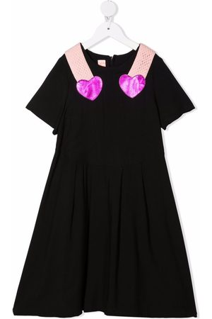 Wauw Capow by Bangbang Double Heart A-line dress