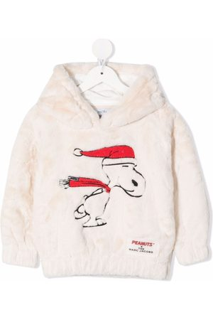 The Marc Jacobs Snoopy faux-fur hoodie