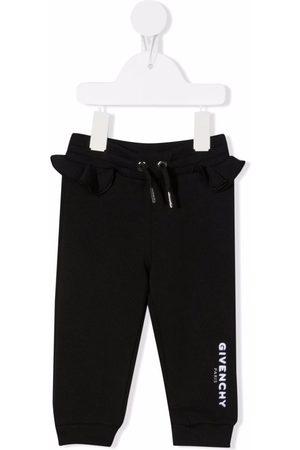 Givenchy Logo-print ruffled track pants