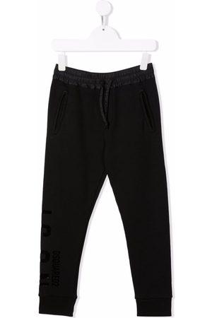 Dsquared2 Drawstring cotton track pants
