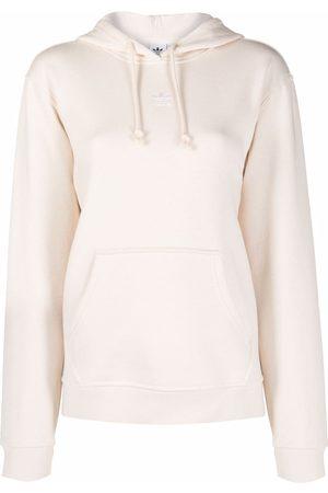 adidas Dames Hoodies - Originals embroidered-logo hoodie