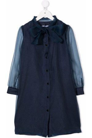 SEÑORITA LEMONIEZ Meisjes Casual jurken - Tie-fastening shirt dress