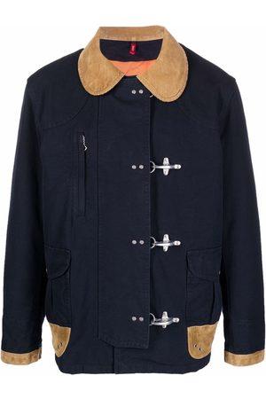 FAY Contrast details jacket