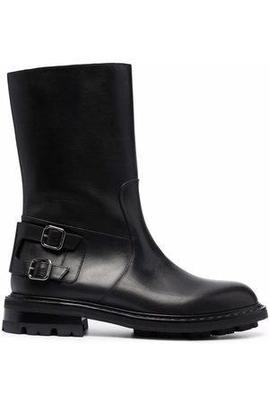 Jimmy Choo Heren Bikerboots - Roscoe leather biker boots