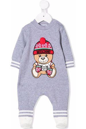Moschino Teddy Bear-print pajamas