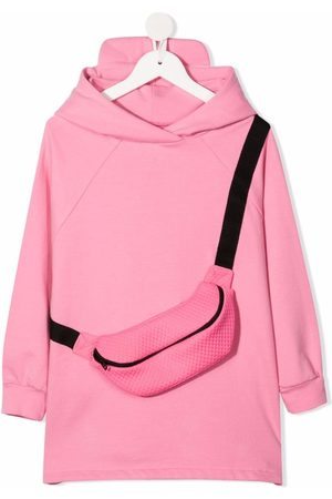 WAUW CAPOW by BANGBANG Meisjes Casual jurken - Evelyn hooded sweater dress