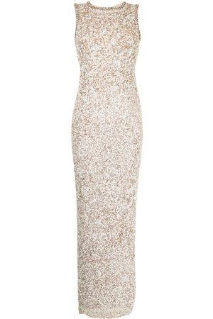 RACHEL GILBERT Sequin-embellished gown