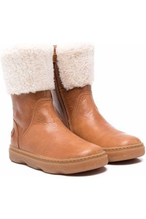 Camper Kido faux-shearling boots
