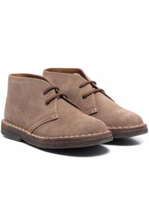 PèPè Lace-up suede boots