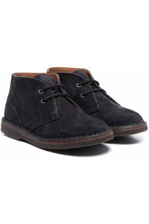 PèPè Suede lace-up boots