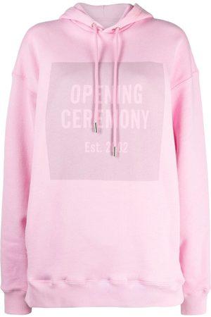 Opening Ceremony Box logo hoodie