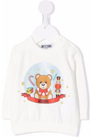 Moschino Teddy Bear motif sweater