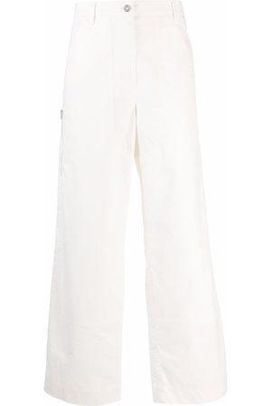 Jil Sander Low-waist wide-leg trousers