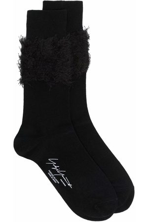 YOHJI YAMAMOTO Heren Ondergoed - Frayed ankle socks