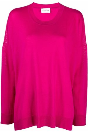 P.a.r.o.s.h. Dames Gebreide truien - Boxy-cut jumper