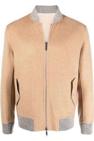 ELEVENTY Bomberjacks - Textured bomber jacket