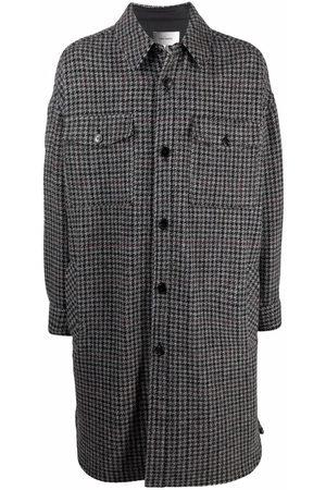 Isabel Marant Check-print buttoned coat