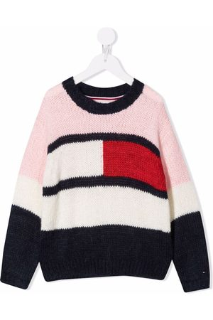 Tommy Hilfiger Flag colour-block jumper