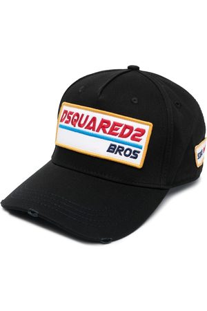 Dsquared2 Logo-patch cotton cap