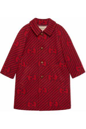 Gucci Logo print coat