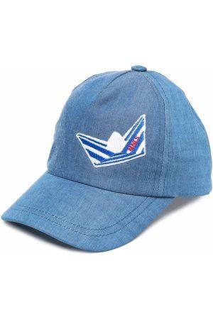 MONNALISA Petten - Embroidered motif baseball cap