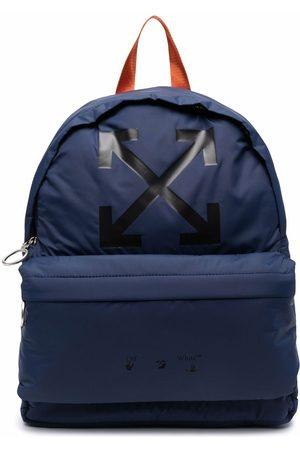 OFF-WHITE Heren Rugzakken - Logo-print backpack