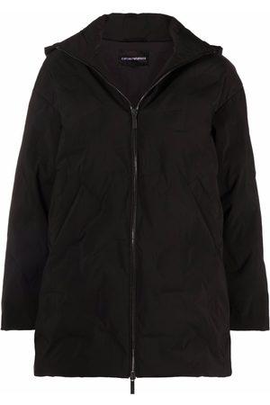 Emporio Armani Zip rain jacket