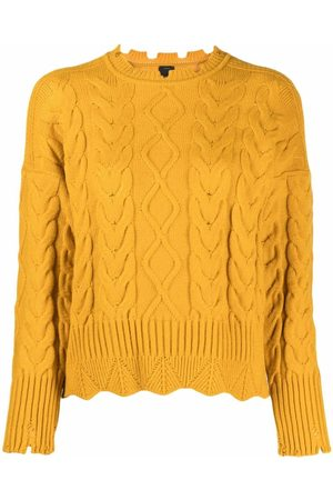 Pinko Dames Gebreide truien - Cable knit jumper