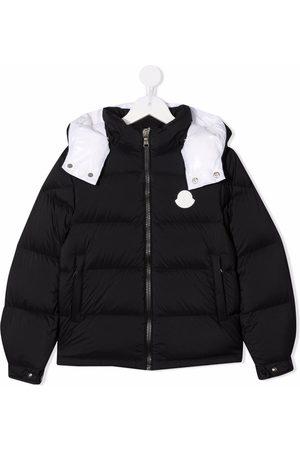 Moncler Short down-filled padded jacket