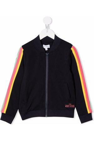 The Marc Jacobs Meisjes Bomberjacks - Zip-up striped bomber jacket