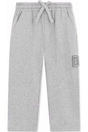 Dolce & Gabbana Jongens Joggingbroeken - Logo-embroidered track pants