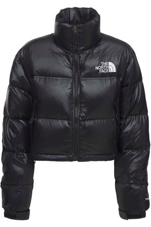 The North Face Dames Donsjassen - Nuptse Cropped Down Jacket